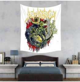 Unique Skull Print Wall Tapestries D42