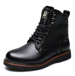 Men's Cotton Inside Lace Up Ankle Boot Martin Boots