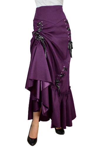 rebelsmarket_black_or_red_long_victorian_ruffle_gypsy_skirt_regand_plus_sizes_9_to_ship_skirts_2.jpg