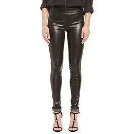 Leather Skin Fit Leggings