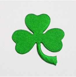 3 Leaf Clover Shamrock St. Patricks Day Patch.
