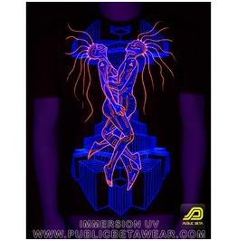 Immersion Uv Blacklight Reactive T Shirt Mens