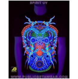 Spirit Uv Blacklight Reactive T Shirt Mens
