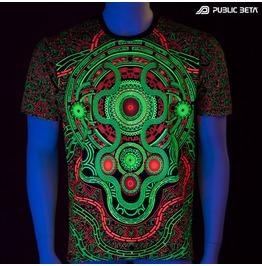 Mastermind Uv Blacklight Reactive T Shirt Mens
