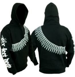 Armed For Battle Hoodie; Pullover; Black