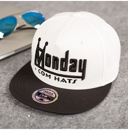 Week 1 7 Days Hip Hop White Baseball Caps,Personalized Casual Trucker Caps
