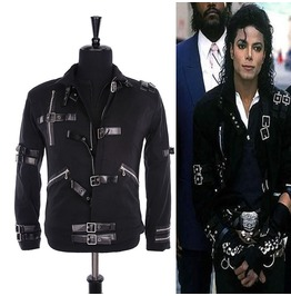 Mens Mj Jackets Men Punk Bad Black Jacket Gothic Fashion Jacket For Men