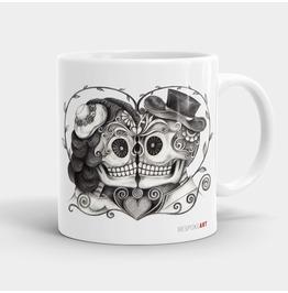 True Love Skull Coffee Or Tea Mug 11oz