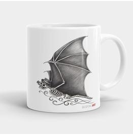 The Real Batman Skull Coffee Or Tea Mug 11oz