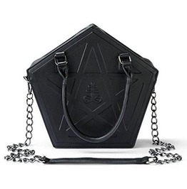 Gothic Women Pentagram Handbag