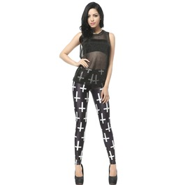 Cross Leggings Pants