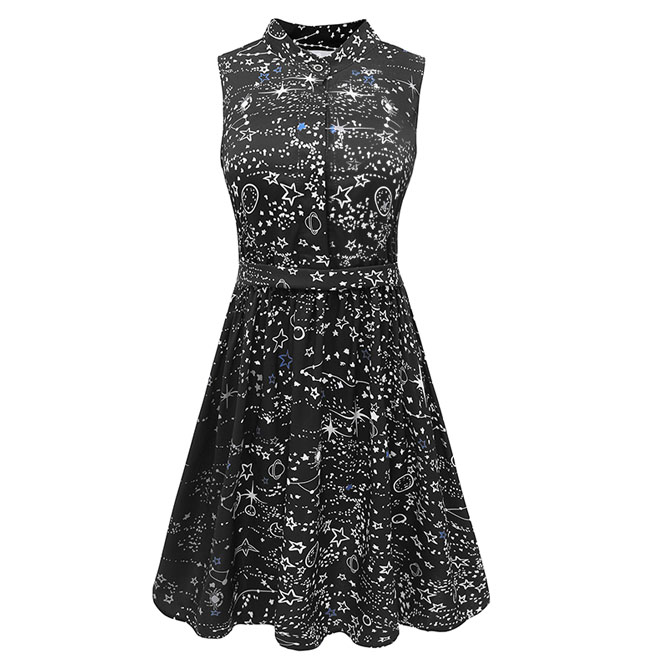 rebelsmarket_vintage_goth_black_stars_constellation_high_waist_a_line_mini_dress_dresses_6.jpg