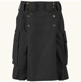 Tdk Utility Cotton Kilt Custom Size 4 Pockets Military Grade Scottish Kilt