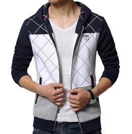 Men Sport Fashion Hooded Sweatshirts Hoodies Fleece Jacket Plus Size