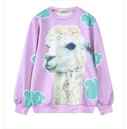 Alpaca Sweatshirt Sudadera Wh340