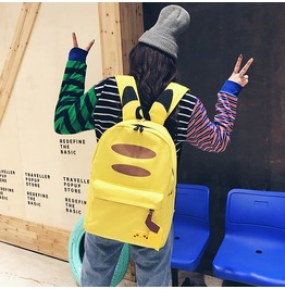 Pikachu Backpack Mochila Wh341