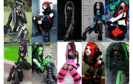 cyber goth dress up games