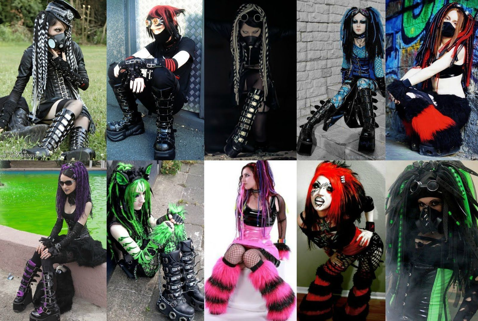 Intro To Cyber Goth Goth S Futuristic Side