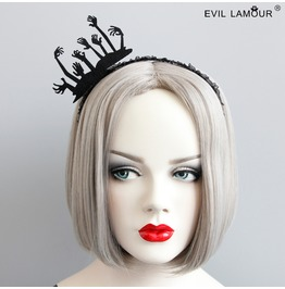 Handmade Gothic Vampire Hand Crown Hair Accessories Fg 63