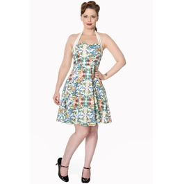 Banned Clothing Sand Mandala Halterneck Dress