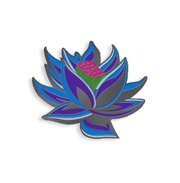 Black Lotus Enamel Pin