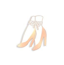 Bound Ankles Enamel Pin By Hannah Nance
