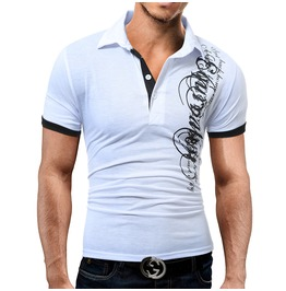 Darksoul New Men Fashion Short Sleeve Polo T Shirt Men Casual Plus Size