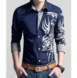 Long Sleeve Mens Shirt Dress Shirts Men Mens S M L Xl