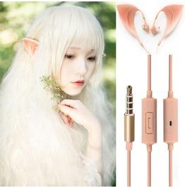 Cute Elf Ear Earphone Accessories Earring Jewelry Gadget