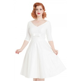 Voodoo Vixen Dorothy Bridal Flared Dress