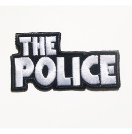 The Police Applique Embroidered Iron On Patch.