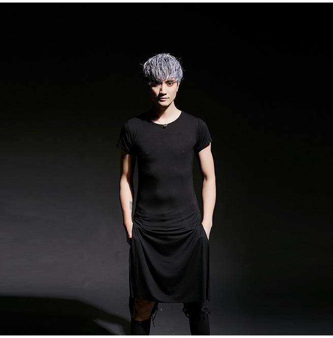 fa2510677520 Men's Extra Long Length Short Sleeves T Shirt | RebelsMarket