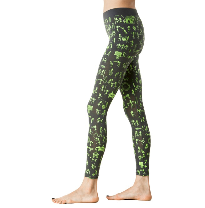 ea5b816043ce3 Graphic Leggings Boho Tights India Warli Art Legging   RebelsMarket