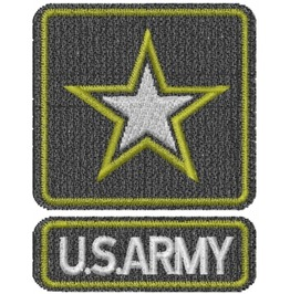 Embroidered U.S. Army Iron/Sew On Patch Badge Military Patch