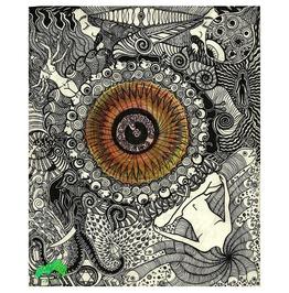 "Visionary Art 25""X20.5"" Art Print , Evolution Art Print"