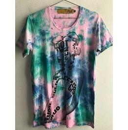 Lady Gaga Fashion Pop Rock Tie Dye Unisex T Shirt S