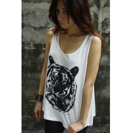 Tiger Animal Fashion Unisex Vest Tank Top