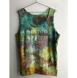 Japanese Joy Division Fashion Tie Dye Vest Tank Top