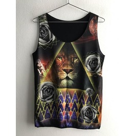 Sale!! Fantasy Animal Fashion Pop Rock Indie Vest Tank Top