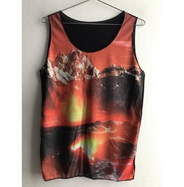 Sale!! Fantasy World Fashion Pop Rock Indie Vest Tank Top