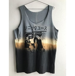 Sale! Japanese Joy Division Fashion Tie Dye Vest Tank Top