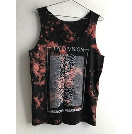Sale! Japanese Joy Division Fashion Tie Dye Vest Unisex Tank Top
