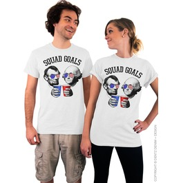 Squad Goals, Usa Presidents, 4th Of July Tshirt, Patriotic Unisex Tee Shirt