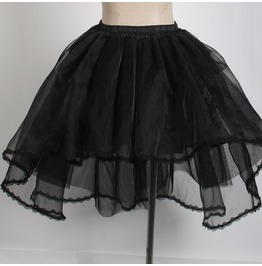 Punk Rave Women's Sheer Multilayer Yarn Skirt/Underskirt Q181