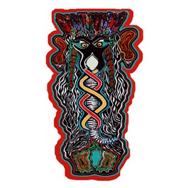 Tribal Elephant Magnet Pin Trippy Fridge Magnet