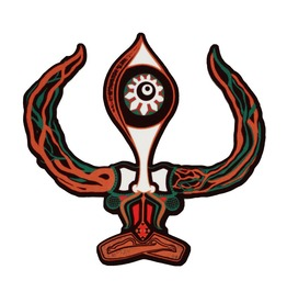 Trishul Third Eye Magnet Forest Tribal Pin Magnet