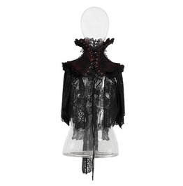 Punk Rave Gothic High Collor Embroideried Lace Collar/Neckwear Y586