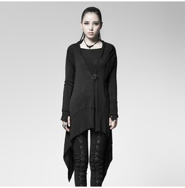 Punk Rave Women's Punk Casual Diabolic Cardigan Pm005