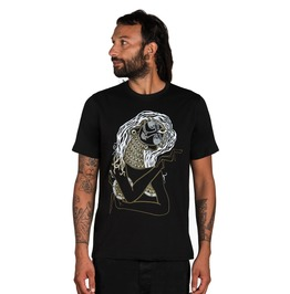 Twisted Vision Men's Graphic T Shirt Tribal Indian Woman Tee