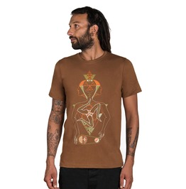 Space Time Men's T Shirt Hipster Clothing